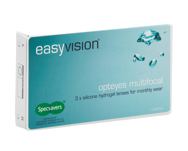 easyvision contact lenses - easyvision Opteyes Multifocal