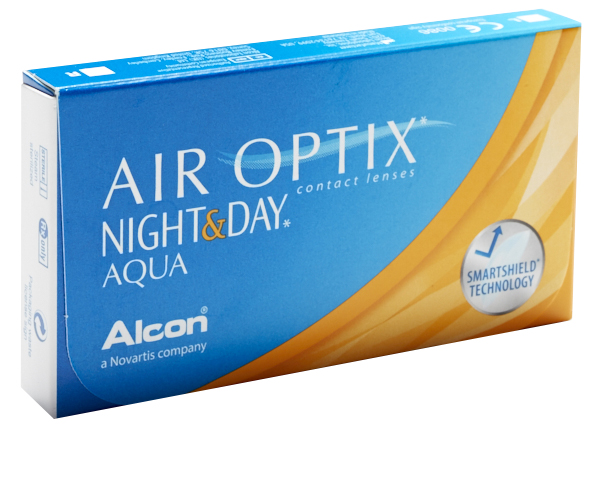 Air Optix contact lenses - Air Optix Night & Day Aqua