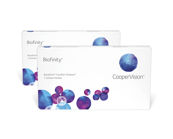 Biofinity contact lenses - Biofinity 6 Pack