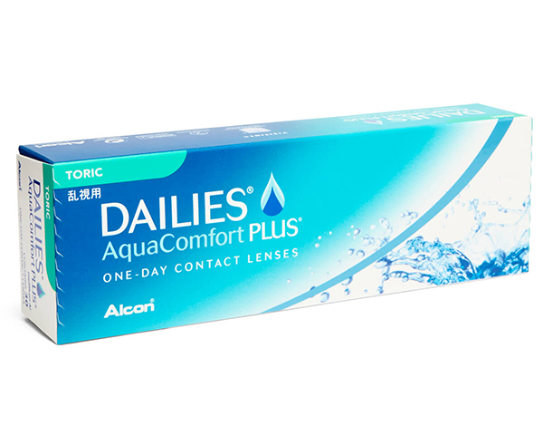 Dailies contact lenses - Focus Dailies Aqua Comfort Plus Toric