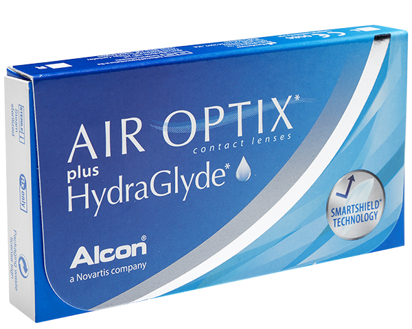 Air Optix contact lenses - Air Optix plus Hydraglyde