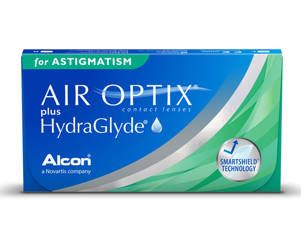 Air Optix contact lenses - Air Optix plus Hydraglyde for Astigmatism