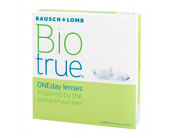 Biotrue contact lenses - Biotrue ONEday 90 pack