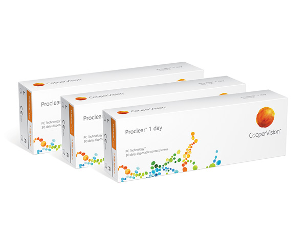 Proclear contact lenses - Proclear 1 Day 90 Pack