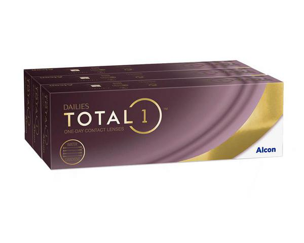 Dailies contact lenses - Dailies Total 1 90 Pack