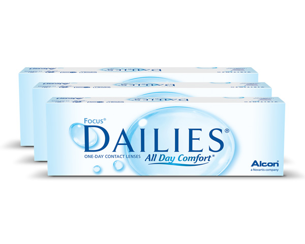 Dailies contact lenses - Focus Dailies All Day Comfort 90 Pack