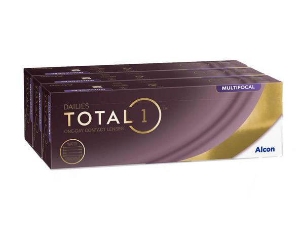 Dailies contact lenses - Dailies Total 1 Multifocal 90 Pack