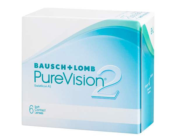 Purevision contact lenses - Purevision II HD 6 pack