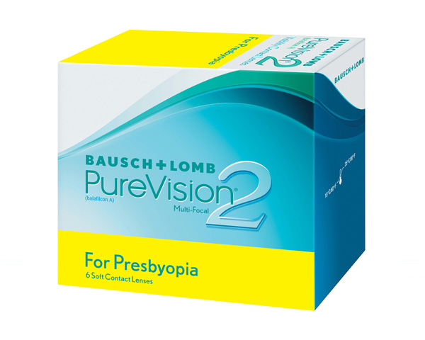 Purevision contact lenses - Purevision II for Presbyopia 6 Pack