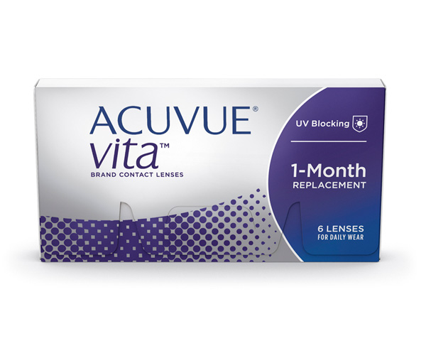 Acuvue contact lenses - Acuvue Vita 6 Pack