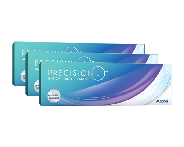 Dailies contact lenses - Precision 1 90 Pack