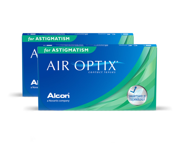 Air Optix piilolinssit - Air Optix for Astigmatism 6 linssiä