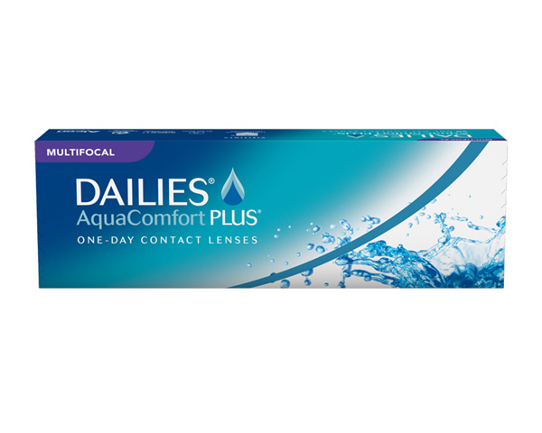 Focus Dailies piilolinssit - Dailies Aqua Comfort Plus Multifocal
