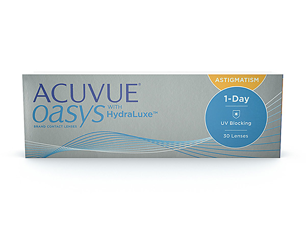 Acuvue piilolinssit - Acuvue Oasys 1-Day for Astigmatism