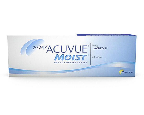Acuvue piilolinssit - 1 Day Acuvue Moist