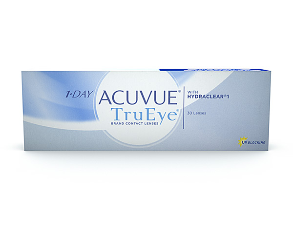 Acuvue contact lenses - 1 Day Acuvue Trueye
