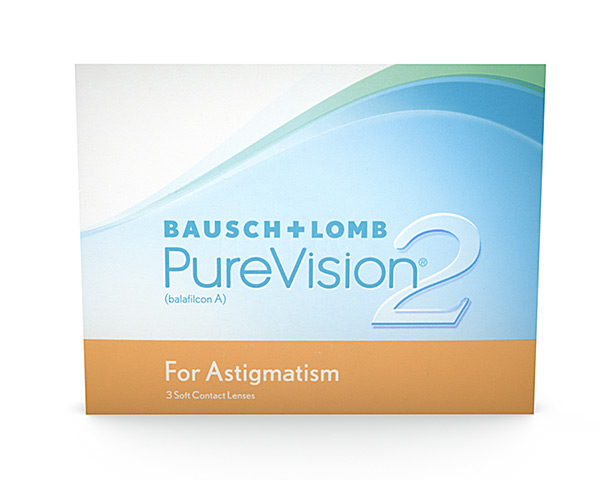 Purevision contact lenses - Purevision 2 for Astigmatism