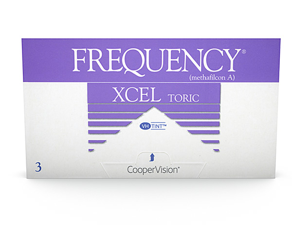 Frequency contact lenses - Frequency Xcel Toric
