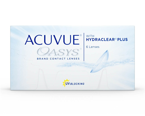 Acuvue contact lenses - Acuvue Oasys