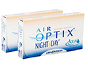 Air Optix Night & Day Aqua 6 lenzen