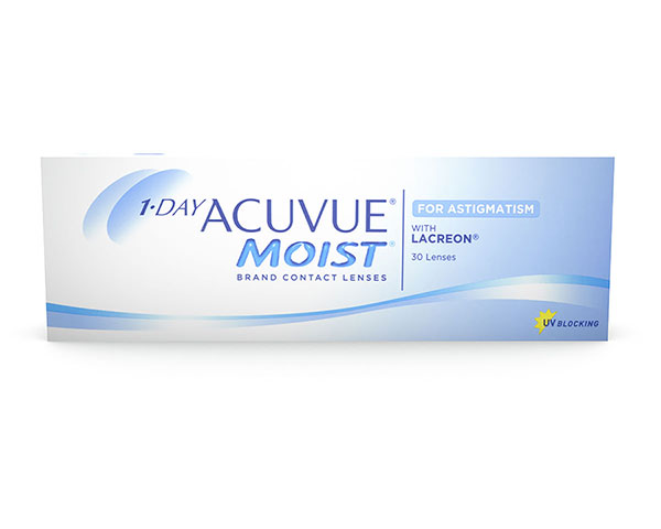 Acuvue kontaktlinser – 1 Day Acuvue Moist for Astigmatism