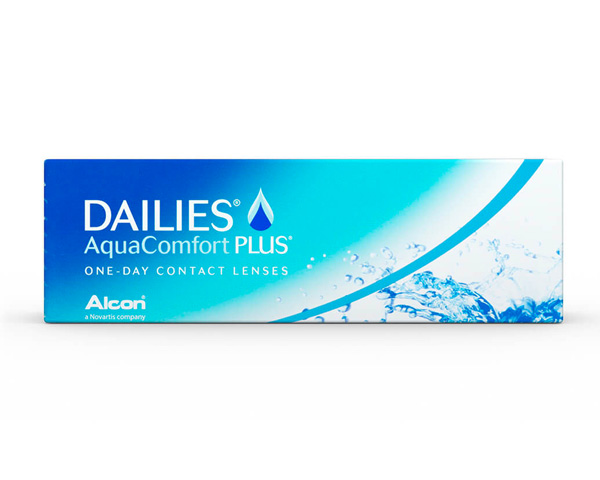 Dailies contact lenses - Focus Dailies Aqua Comfort Plus