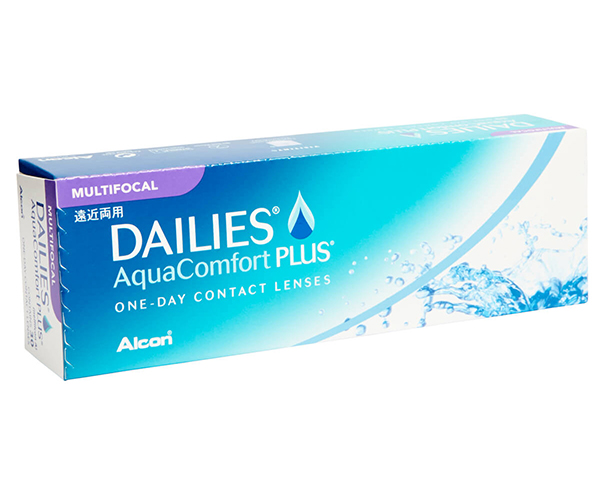 Focus Dailies contact lenses - Focus Dailies Aqua Comfort Plus Multifocal