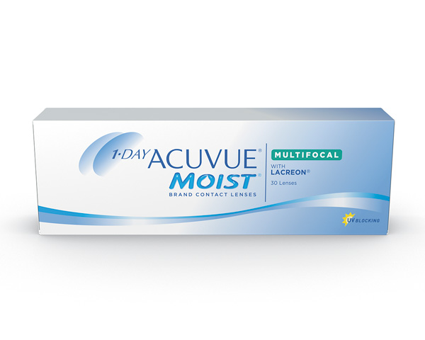Acuvue contact lenses - 1 Day Acuvue Moist Multifocal
