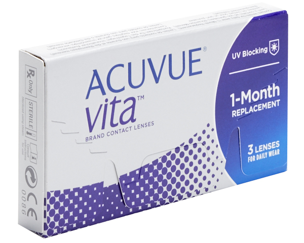 Acuvue contact lenses - Acuvue Vita
