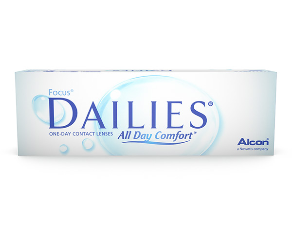 Dailies kontaktlinser – Focus Dailies All Day Comfort