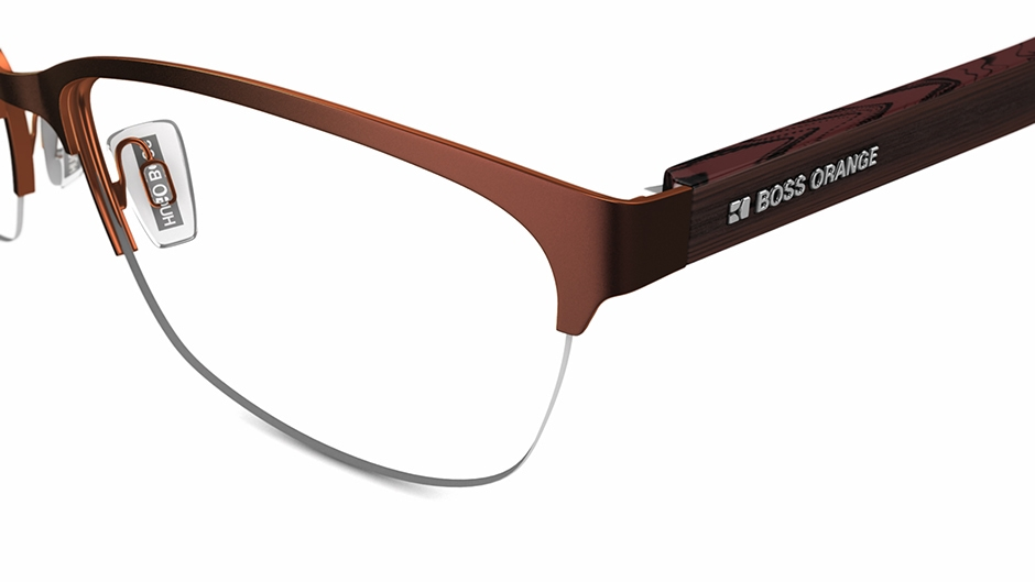 bo-0154 Glasses by BOSS Orange