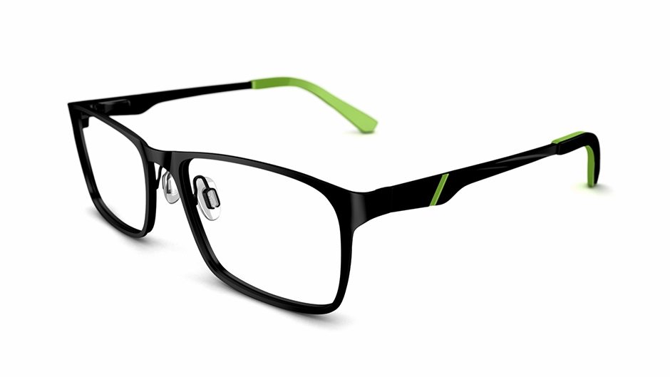 Specsavers Teens Glasses Teen 110 Black Frame 163 85
