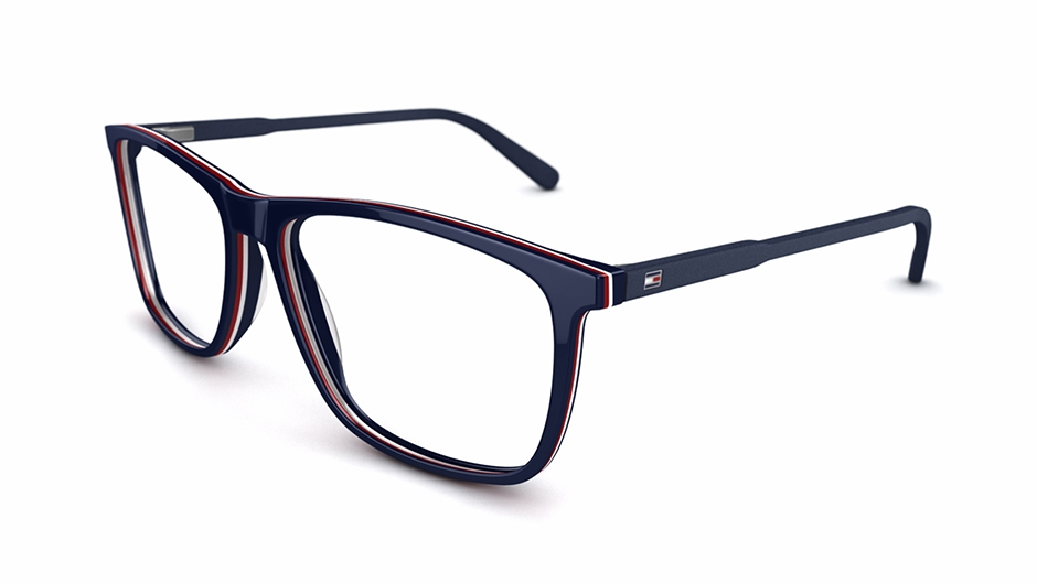 th-81 Glasses by Tommy Hilfiger
