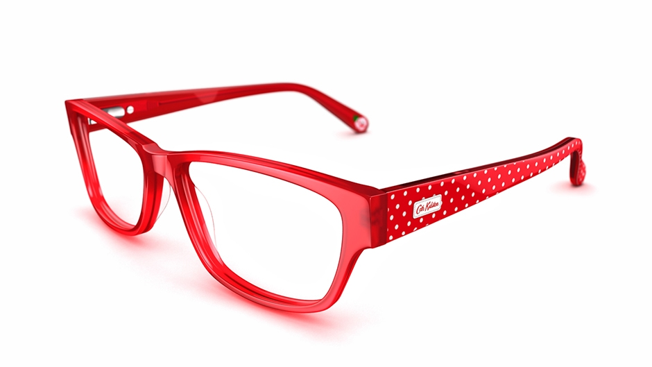 cath kidston women 39 s glasses cath kidston 03 red frame. Black Bedroom Furniture Sets. Home Design Ideas