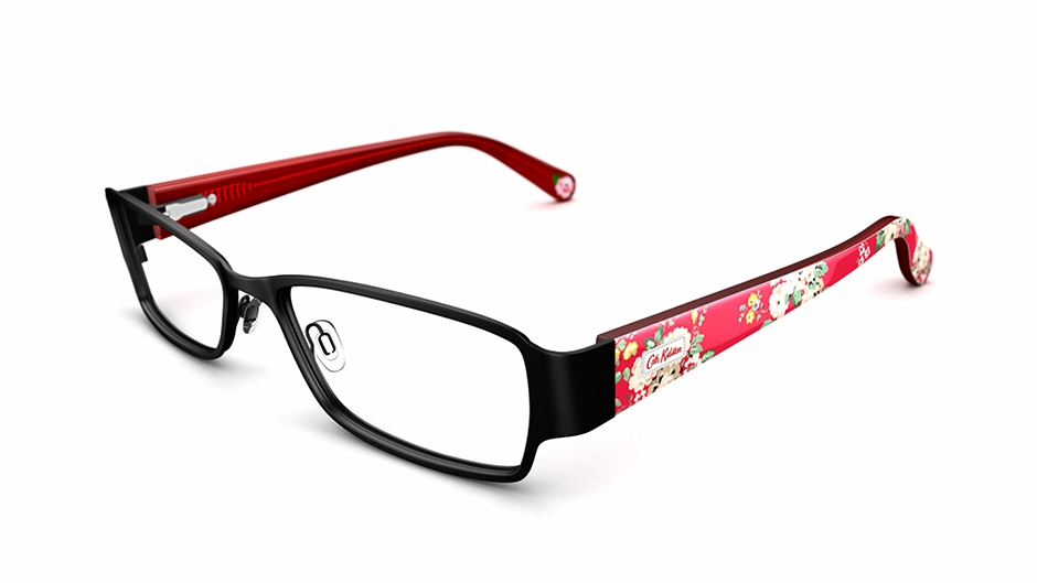 cath kidston women 39 s glasses cath kidston 09 black frame. Black Bedroom Furniture Sets. Home Design Ideas