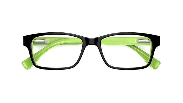 Specsavers Kids Glasses Kids 72 Glow 3 Black Frame 55