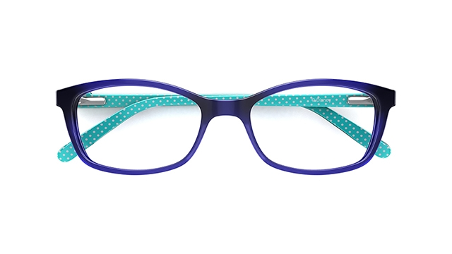 Disney Kids Glasses Minnie 03 Purple Oval Acetate