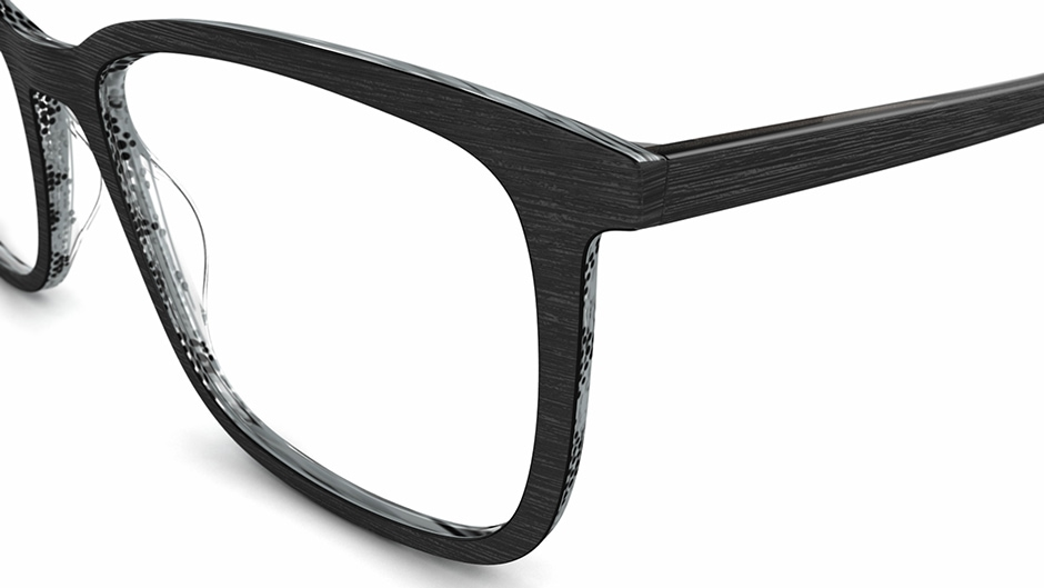 Specsavers Men\'s Glasses AARON | Black Frame £69 | Specsavers UK ...