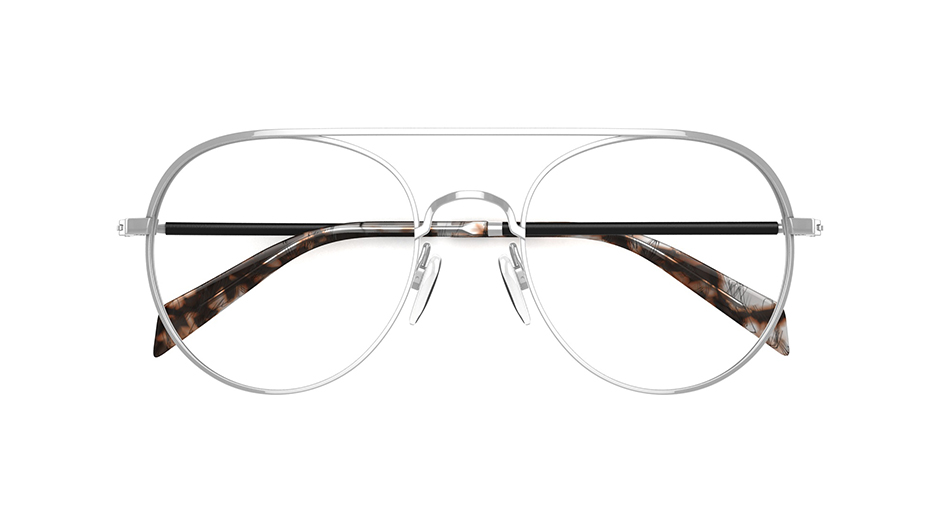 Kylie Minogue Womens Glasses Love At First Sight Silver Frame
