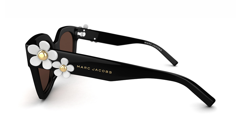 biggest discount new lower prices popular brand MARC JACOBS Women's glasses MARC JACOBS SUN RX 04 | Black | Specsavers